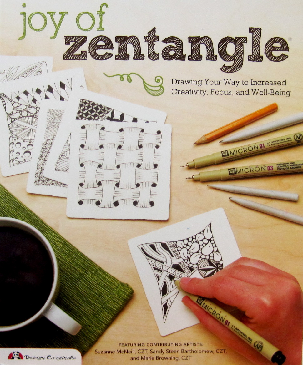 Color zentangles online - There Is Also A Section In The Joy Of Zentangle That Teaches You The Coloring Method You Can Purchase Both Books Online Through Design Originals Or From